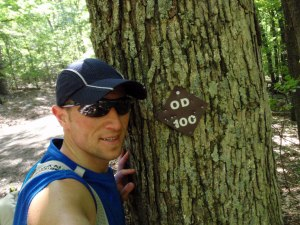 Old Dominion 100 trail marking